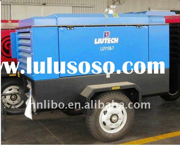 ATLAS COPCO LIUTECH - LUY108-7S  381cfm @ 7bar atlas copco diesel driven portable air compressor
