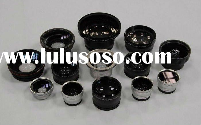 Camera Lens Wide Angle Fisheye Telephoto
