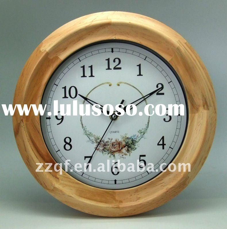 Fashion wooden wall clock