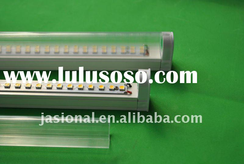 T5 Pure White Color SMD5050 LED Tube with Integrated Brackets, 18W, 220V