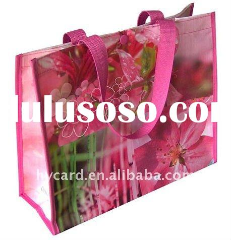 recycle pp non-woven tote bags