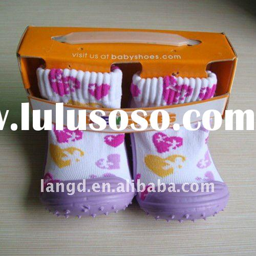 soft sole baby sock shoes