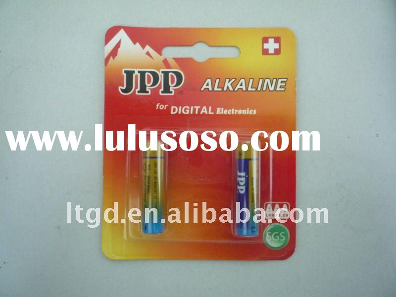 AAA Alkaline Battery, LR03 Battery, Dry Battery (SGS approved, blistercard)