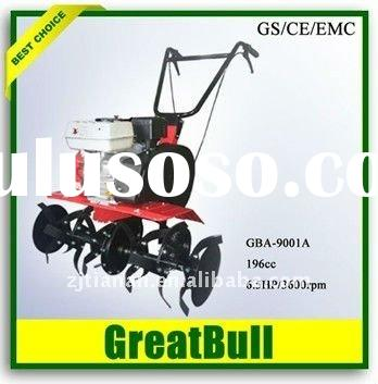 Gasoline mini tiller cultivators walking tractor hand tillers rototillers mini-tiller supplier