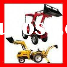 Good Quality 35hp 4wd Agrimotor Tractor  front end loader and backhoe
