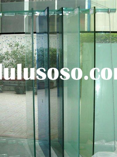 Tinted Tempered Shower Door Glass