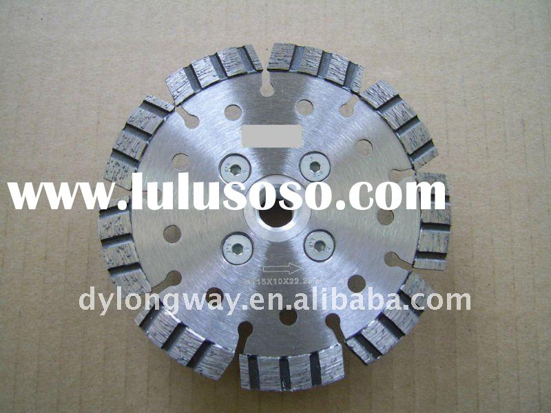 diamond turbo saw blade with Flanges