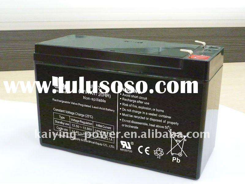 sealed lead acid battery 12V7AH