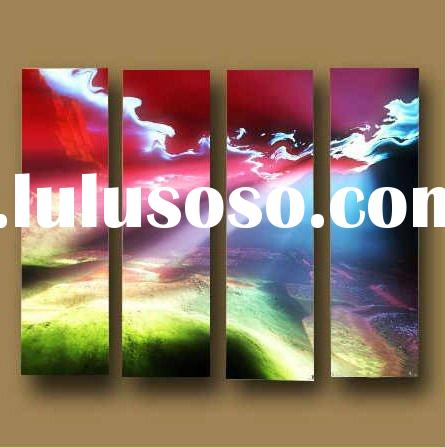 2011 High quality beautiful decorative abstract oil painting on canvas