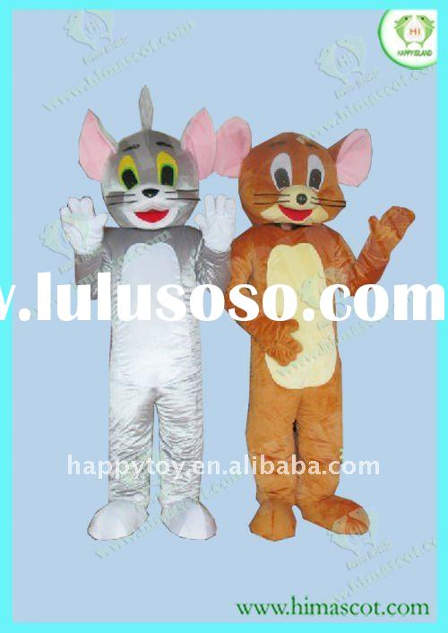 2012 tom and jerry mascot costume