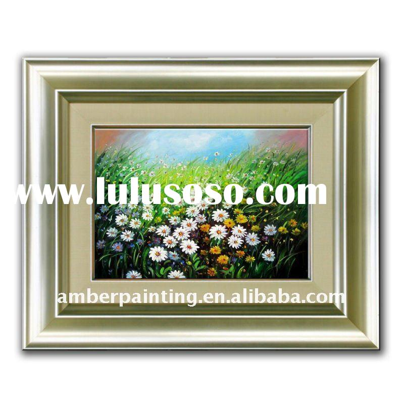 Decoration abstract Handmade oil painting