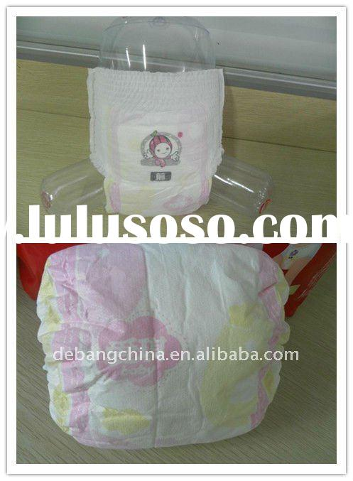 Disposable pant diaper with competitive price