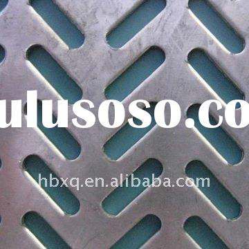 Stainless steel perforated metal mesh/perforated sheet