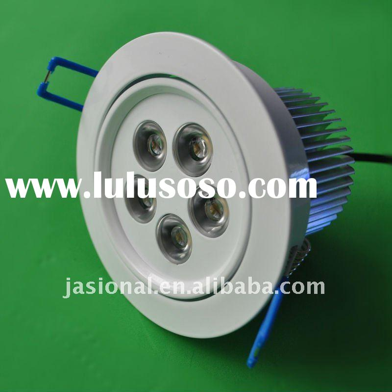 Wholesale ultra-bright Australia standard Adjustable/dimmable led ceiling light 5w pure white/cool w