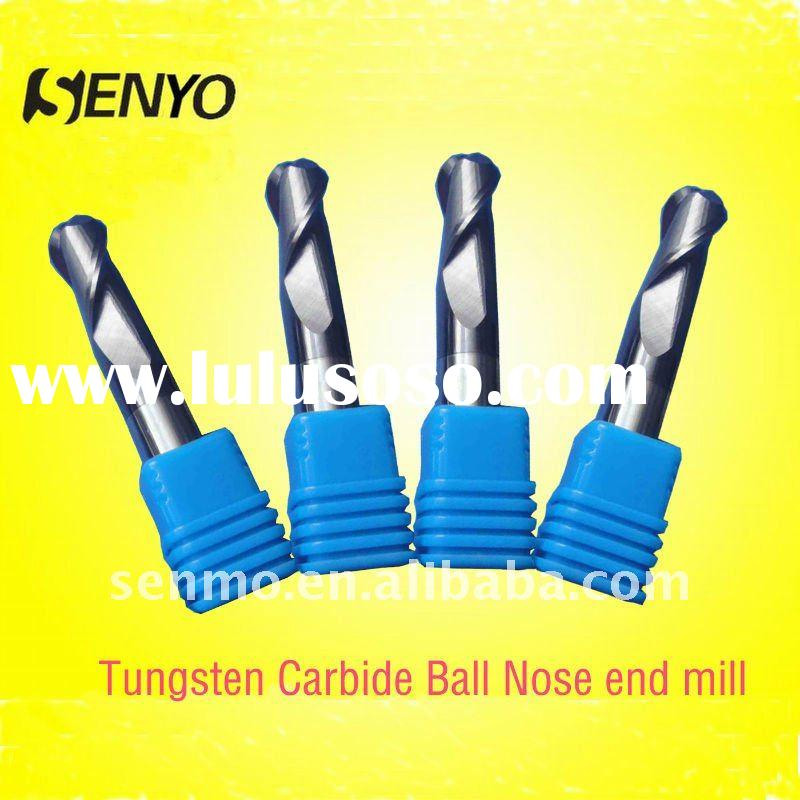 carbide ball nose end mill /CNC cutter/tungsten carbide ball nose cutter / ball nose milling cutters