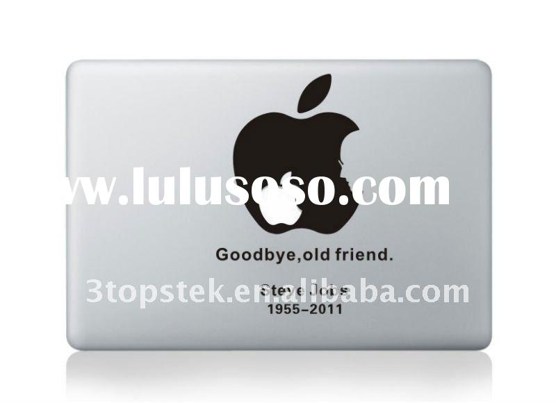 for MacBook unique skin sticker Steve Jobs