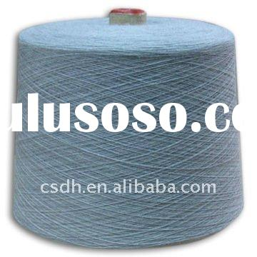 36Nm/2 50% wool 50% acrylic worsted merino wool/acrylic blended yarn with mercerized