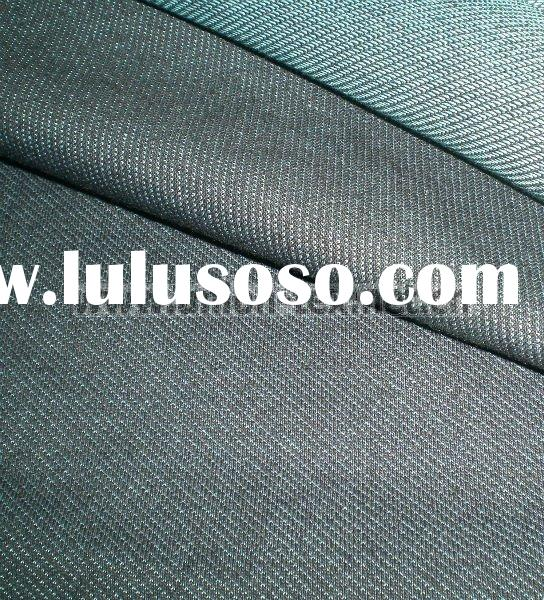 Cotton Poly Spandex Twill Indigo Denim Knitted Fabric
