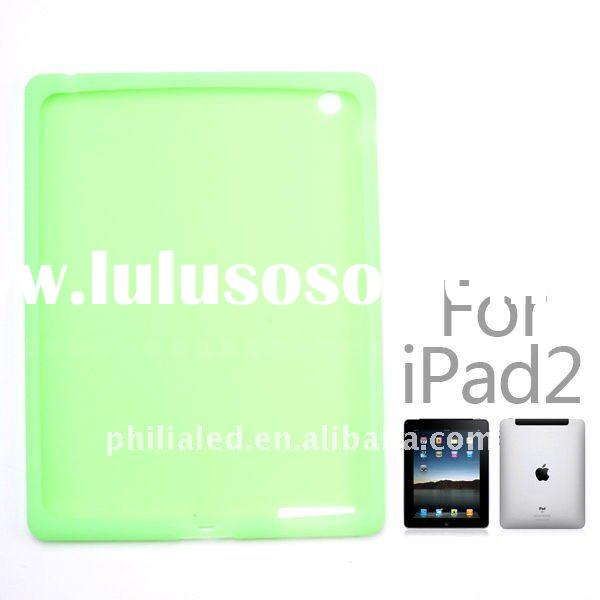 Hot sell silicone case for iPad 2 with SGS&RoHS
