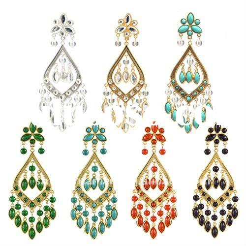 Design800800 Colorful Chandelier Earrings Multi Colored – Cheap Chandelier Earrings