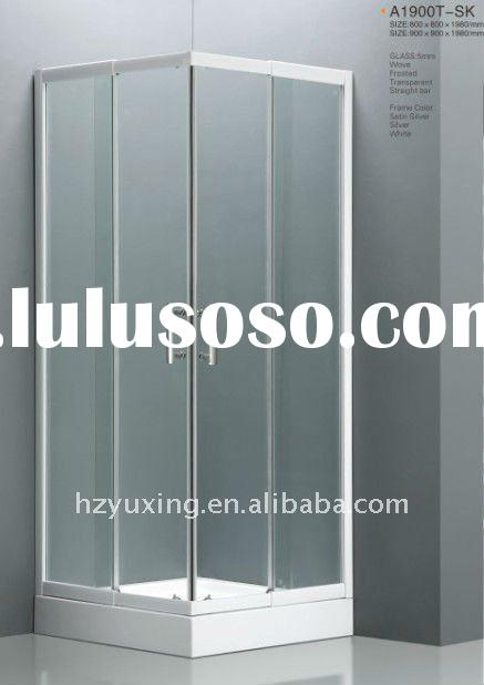 high quality tempered glass shower room A1900T-SK, with extension