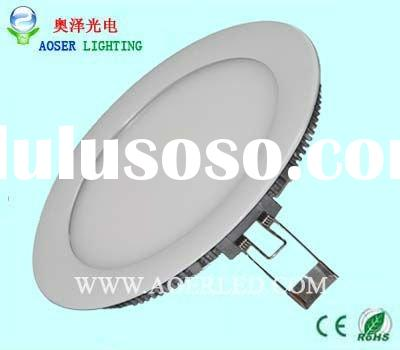 10w round high power led pannel light
