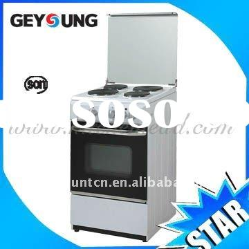 4 Electric Burners Free Standing Gas Oven