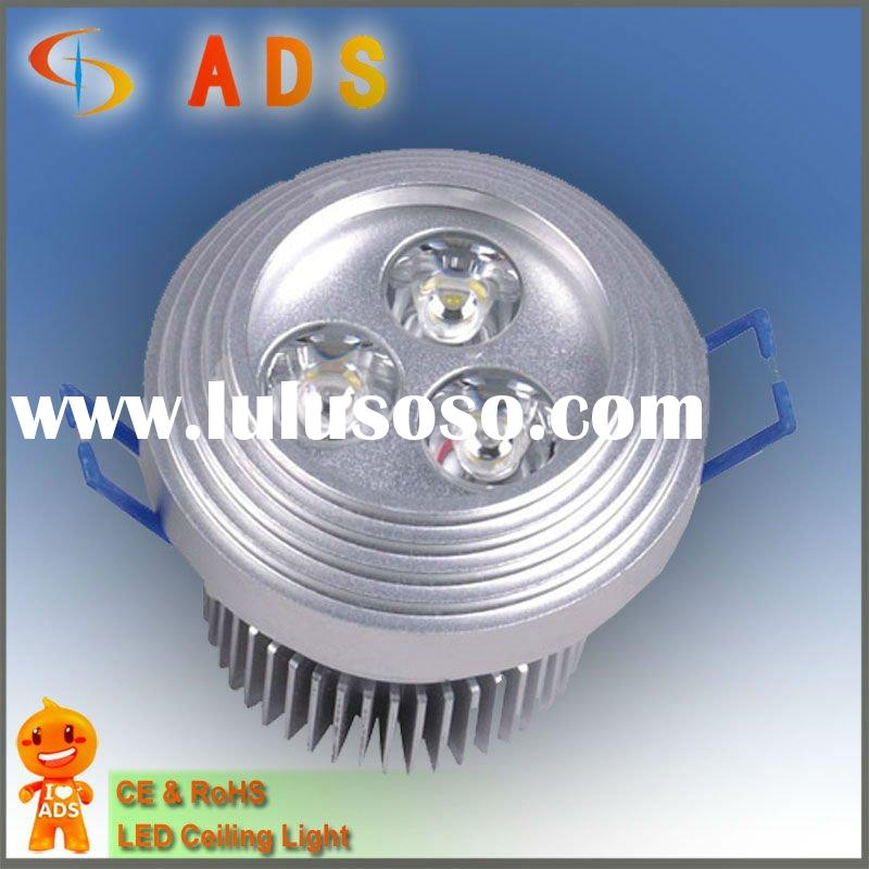 LED downlight,3W270LM, ADS-THD-04 ceiling light,aluminum shell