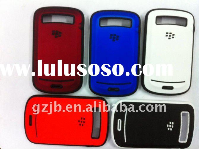 PC combo Protective mobile phone case for Blackberry 9700