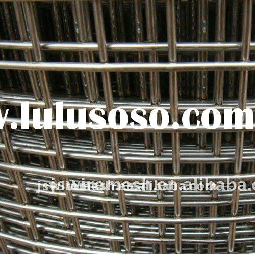 Stainless Steel & Galvanized Welded Wire Mesh (Direct Factory)
