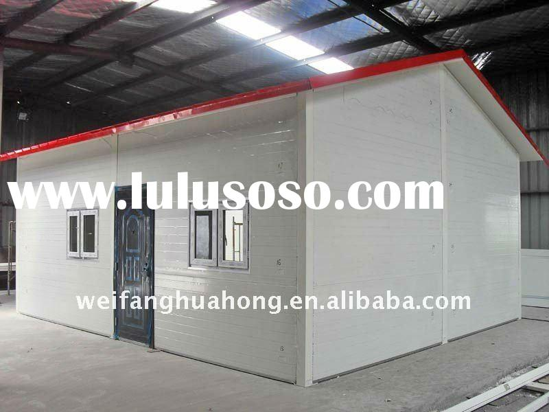 Modern Beautiful Cheapest Earthquakeproof and Insulated prefabricated house