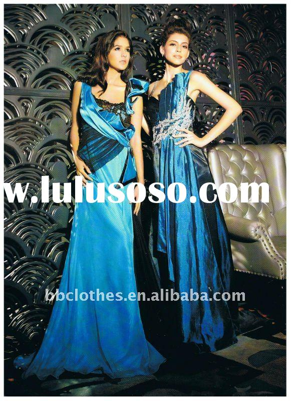 The Blue Evening Dress 2012