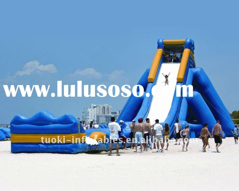 giant inflatable water slide , inflatable sliding game ,inflatable water slide