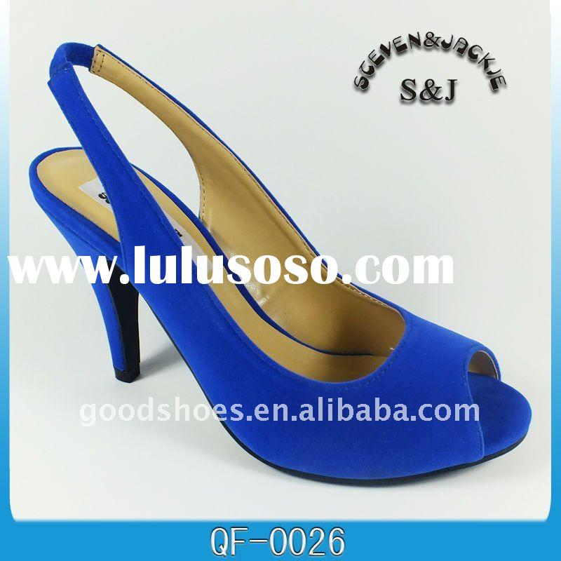 royal blue ladies sandalsdetailed production informationBrandSJQuality