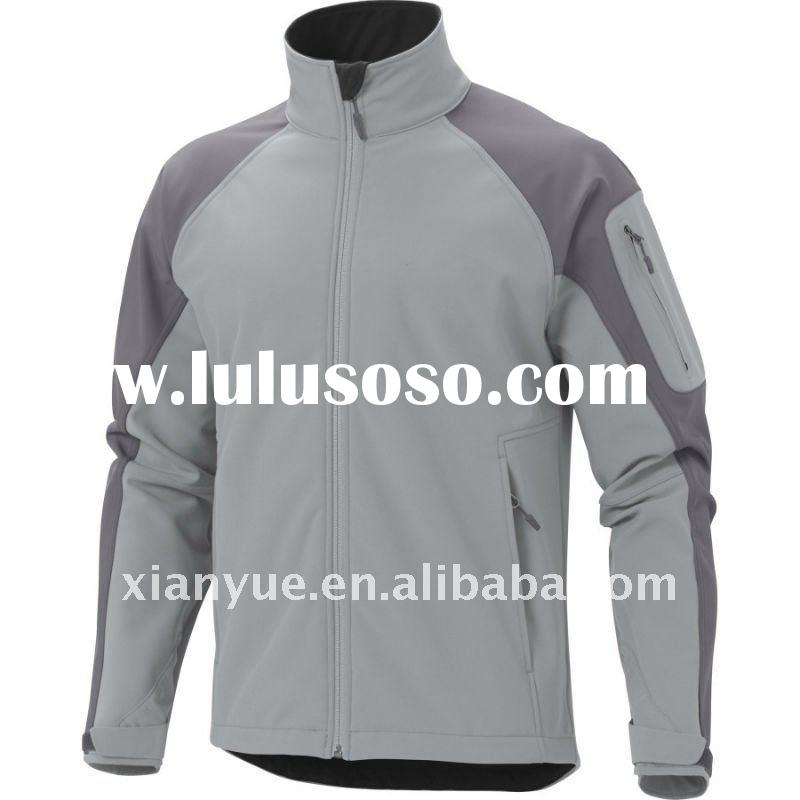 2011 Plus Size Softshell Winter Jacket For Men