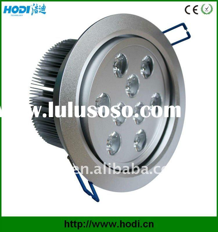 9W high power round led downlight with CE and RoHs