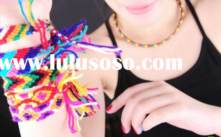 Friendship bracelet made by hand hot selling