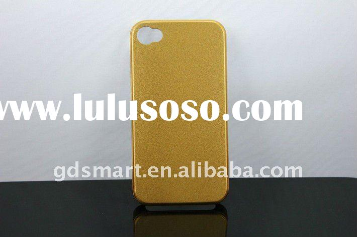 Latest metal cases for iPhone 4 4S With Yellow
