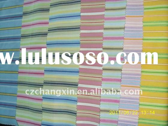 TC fabric yarn dyed stripe fabric for shirt