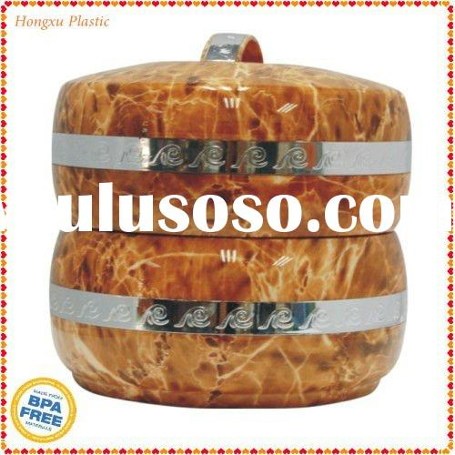 Two Layer Insulated Rounded Food Jar with stainless steel  liner 3962