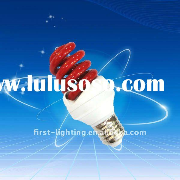 half spiral energy saving lamp