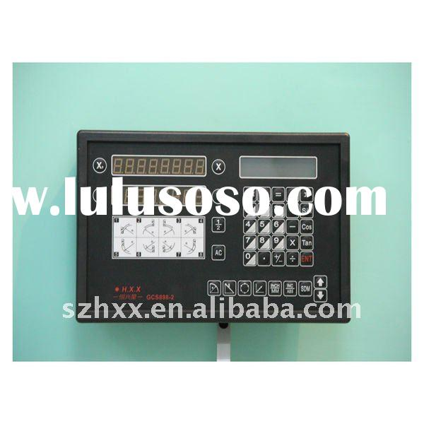 high quality two axis digital readout for lathe