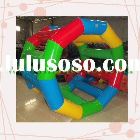 Inflatable roller wheel suits for over 3ages kids and adult and play on ...
