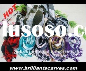 2011 new 100% cotton scarf, viscose scarf