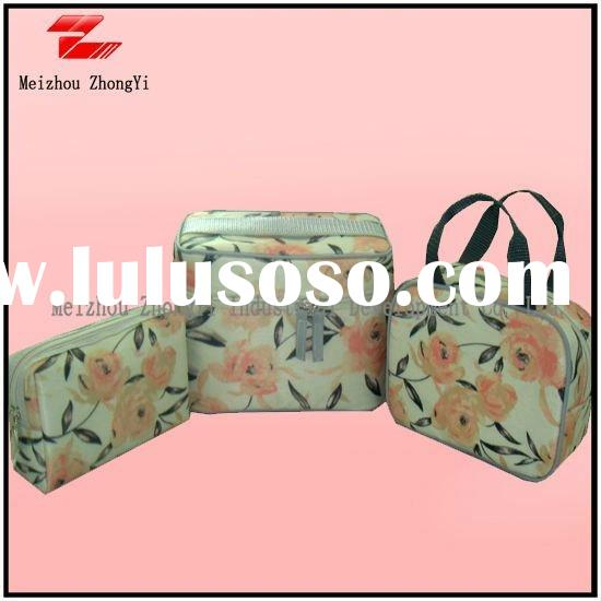 2012 New design set of  travel cosmetic bags