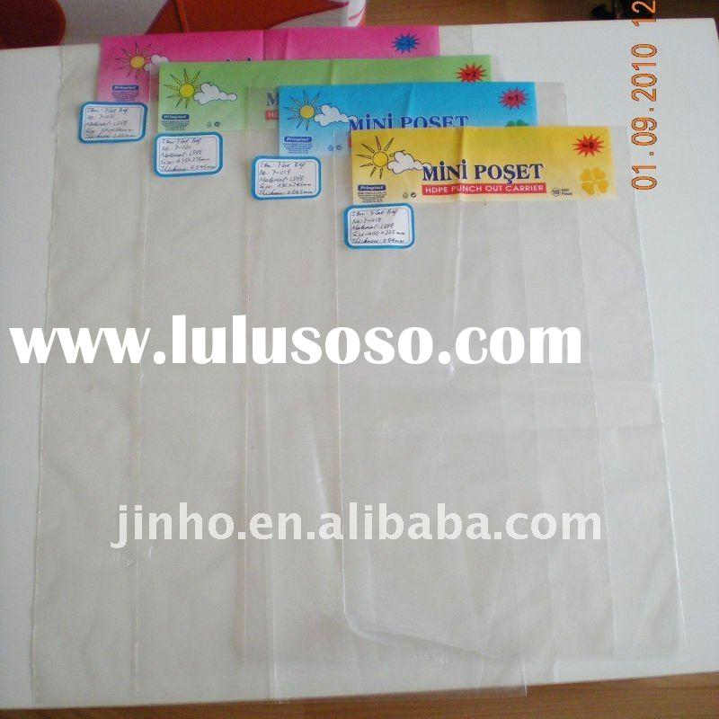 F-090 PE plastic Folding  shopping bags