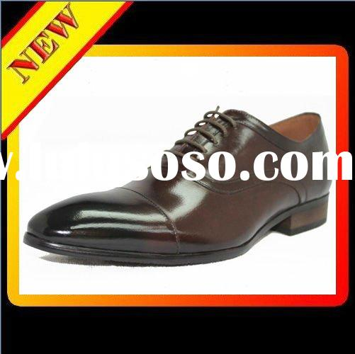 Men's fashion dress shoe Genuine Leather  shoes