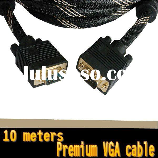 db15 pin male to male svga vga cable