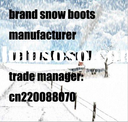 fashion winter snow boots wholesale