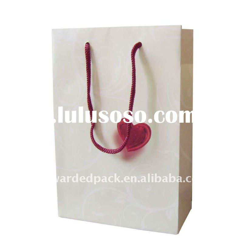 sweet heart gift paper bag for mother's day